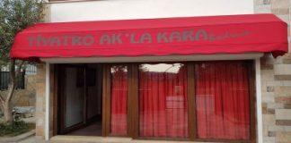Tiyatro Ak'la Kara'da Coronavirüs Önlemi